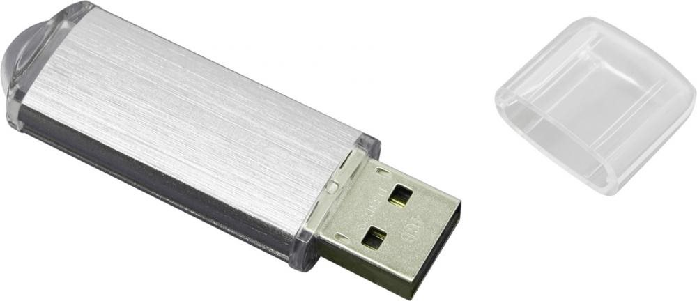 Флеш-накопитель Silicon Power ULTIMA II-I Series 8Gb (SP008GBUF2M01V1S), USB 2.0, серебристый